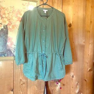 Eileen Fisher Jacket 100% Organic Cotton
